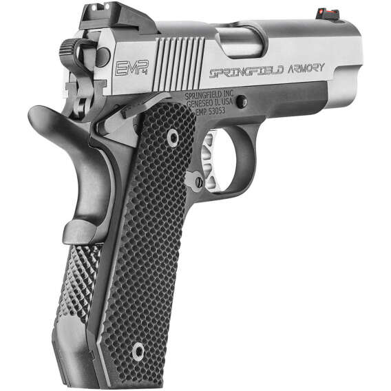 Springfield Armory 1911 EMP Conceal Carry 9mm Luger Pistol